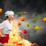 nấu ăn cho mẹ chồng