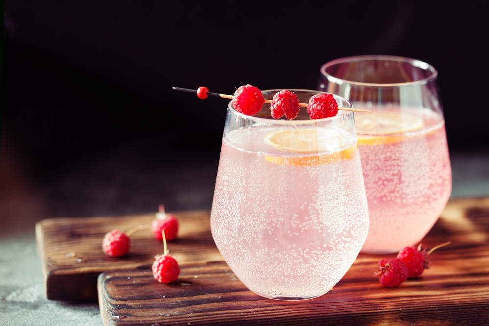 nước chanh hồng