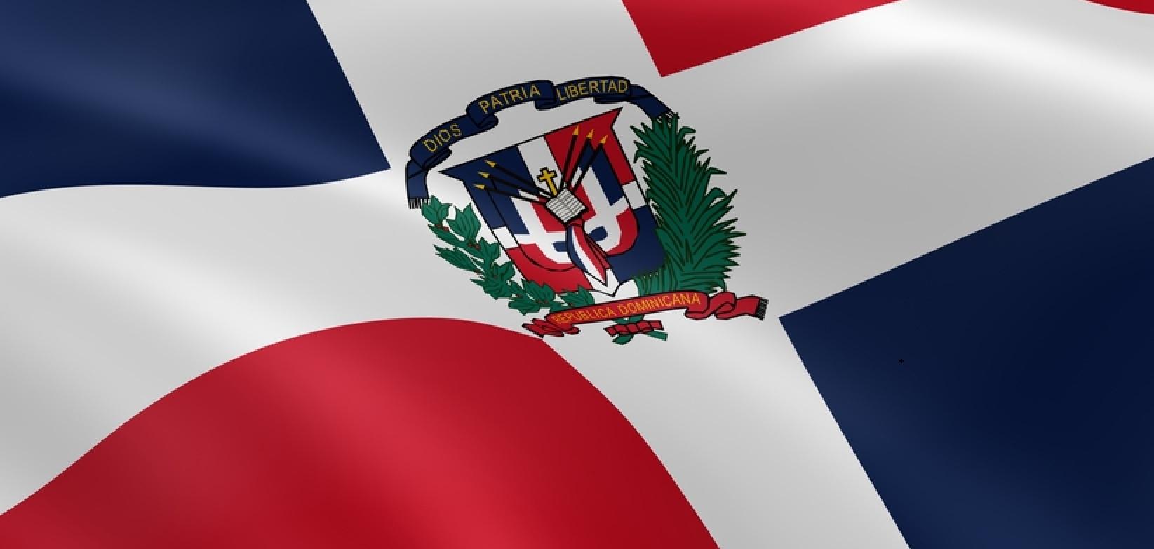 lá cờ Dominican