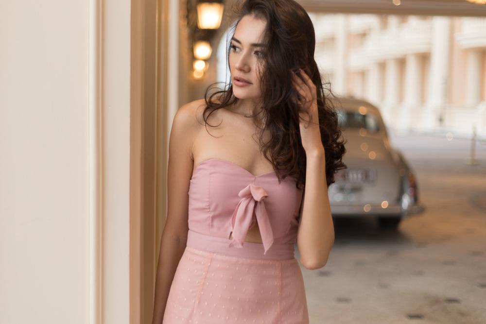 váy vải lanh